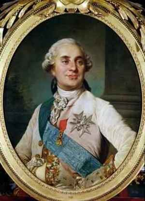 Reproduction oil paintings - Joseph Siffrein Duplessis - Portrait Medallion of Louis XVI 1754-93
