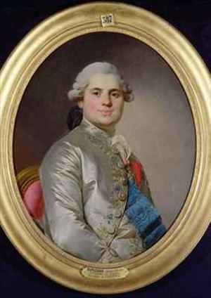 Reproduction oil paintings - Joseph Siffrein Duplessis - Louis de France 1755-1824 Comte de Provence
