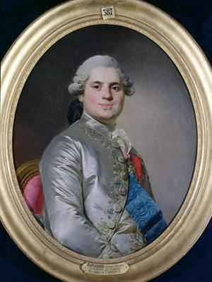 Reproduction oil paintings - Joseph Siffrein Duplessis - Portrait of Louis of France 1755-1824 Count of Provence future King Louis XVIII