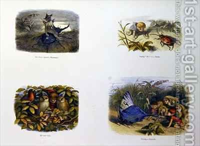 Richard Doyle: In Fairy Land 3 - reproduction oil painting