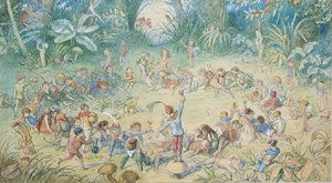 Famous paintings of Fairies: The Fairy Ring