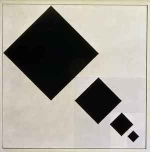 Constructivism painting reproductions: Arithmetic composition