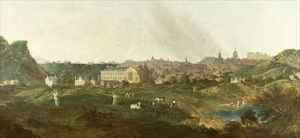 William Delacour reproductions - View of Edinburgh