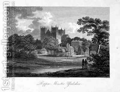 Ripon Minster by (after) Dayes, Edward - Reproduction Oil Painting