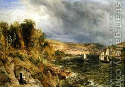 Dartmouth from St Petrox Churchyard by Henry Thomas Dawson - Reproduction Oil Painting