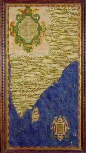 Map of India and Ceylon