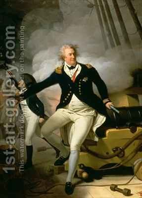 Admiral Adam Duncan 1st Viscount Duncan of Camperdown 1731-1804 by Henri Pierre Danloux - Reproduction Oil Painting