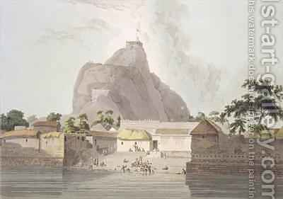 View in the Fort of Trichinopoly by (after) Daniell, Thomas - Reproduction Oil Painting