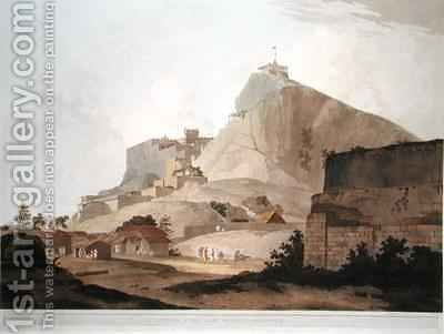 South East View of Trichinopoly by (after) Daniell, Thomas - Reproduction Oil Painting