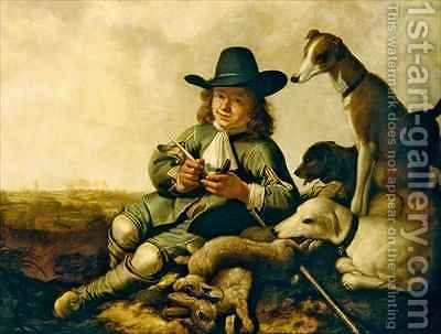 Young Sportsman by Aelbert Cuyp - Reproduction Oil Painting
