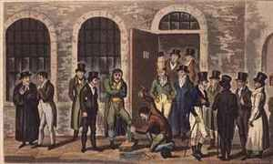 Tom Jerry and Logic visiting condemned prisoners at Newgate Prison