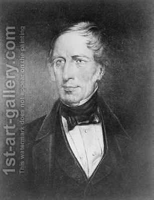 Portrait of Charles Sturt 1795-1869 at the age of 54 by (after) Crossland, John Michael - Reproduction Oil Painting