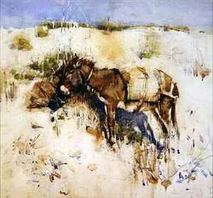 Famous paintings of Donkeys: Tangier 2