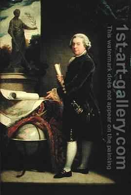 John Adams 2 by (after) Copley, John Singleton - Reproduction Oil Painting