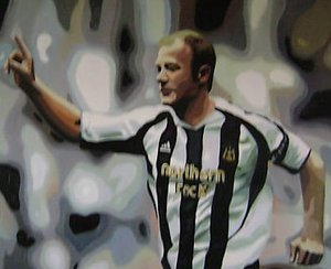Reproduction oil paintings - Pop Art - Alan Shearer Newcastle