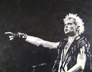 Reproduction oil paintings - Pop Art - Billy Idol