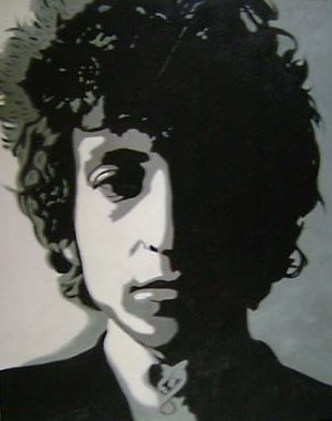 Reproduction oil paintings - Pop Art - Bob Dylan Portrait