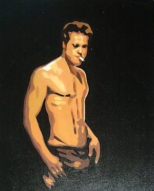 Reproduction oil paintings - Pop Art - Brad Pitt Fight Club