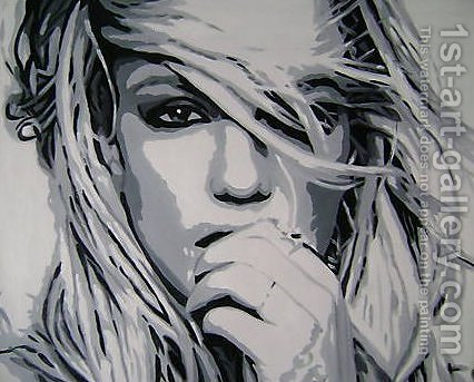 Britney Spears by Pop Art - Reproduction Oil Painting