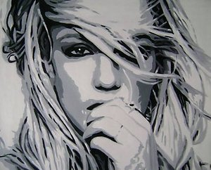 Reproduction oil paintings - Pop Art - Britney Spears