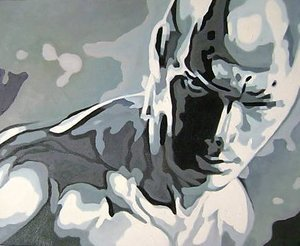 Reproduction oil paintings - Pop Art - Fantastic 4 Silver Surfer