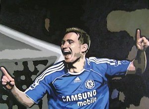 Reproduction oil paintings - Pop Art - Frank Lampard Chelsea