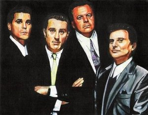 Reproduction oil paintings - Pop Art - Goodfellas Gangster Film