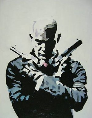 Reproduction oil paintings - Pop Art - Hitman