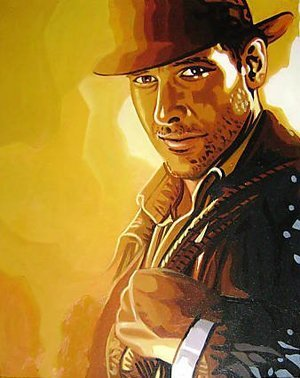Reproduction oil paintings - Pop Art - Indiana Jones Harrison Ford