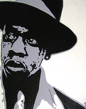 Reproduction oil paintings - Pop Art - Jay Z Rapper