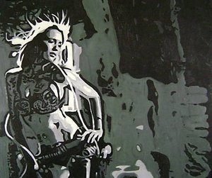 Reproduction oil paintings - Pop Art - Jessica Alba Sin City
