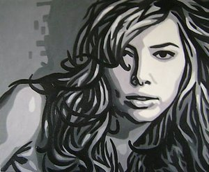 Reproduction oil paintings - Pop Art - Jessica Biel