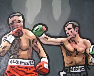 Reproduction oil paintings - Pop Art - Joe Calzaghe Boxing