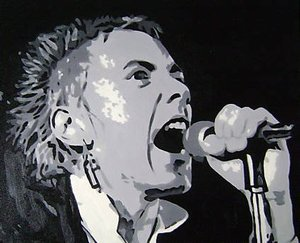 Reproduction oil paintings - Pop Art - Johnny Rotten Sex Pistols