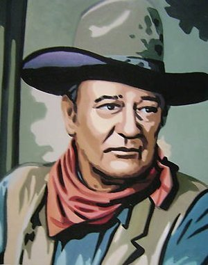 Reproduction oil paintings - Pop Art - John Wayne Western