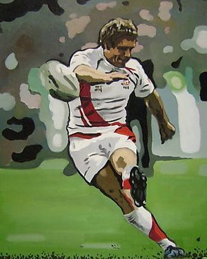 Reproduction oil paintings - Pop Art - Jonny Wilkinson England