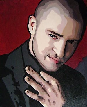 Reproduction oil paintings - Pop Art - Justin Timberlake
