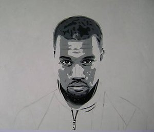 Reproduction oil paintings - Pop Art - Kanye West