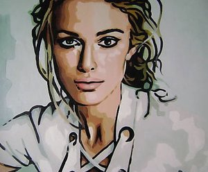 Reproduction oil paintings - Pop Art - Keira Knightley