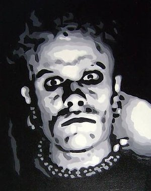 Reproduction oil paintings - Pop Art - Keith Flint The Prodigy