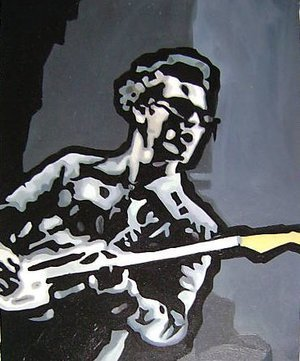 Reproduction oil paintings - Pop Art - Kelly Jones Stereophonics