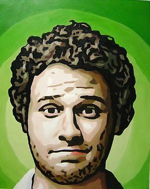 Reproduction oil paintings - Pop Art - Knocked Up Seth Rogan