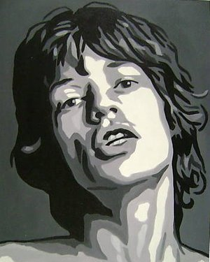 Reproduction oil paintings - Pop Art - Mick Jagger Rolling Stones