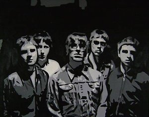 Reproduction oil paintings - Pop Art - Oasis Band
