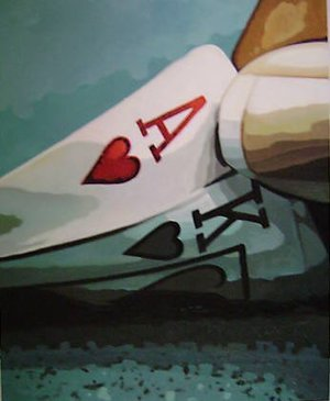 Reproduction oil paintings - Pop Art - Poker Hand