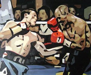 Reproduction oil paintings - Pop Art - Ricky Hatton Fight