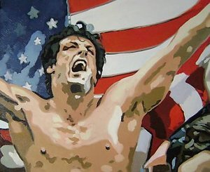 Reproduction oil paintings - Pop Art - Rocky Balboa