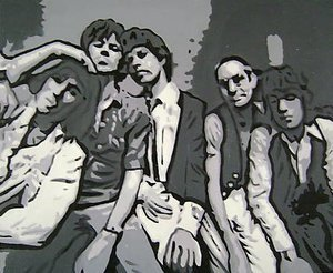 Reproduction oil paintings - Pop Art - Rolling Stones Group