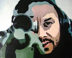 Reproduction oil paintings - Pop Art - Shooter Sniper
