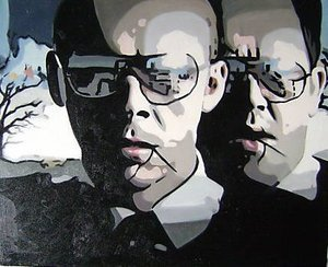 Reproduction oil paintings - Pop Art - Simon Pegg Hot Fuzz